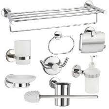bathroom accessories set interior design