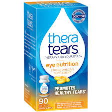 amazon com theratears eye nutrition 90 count omega 3 supplement