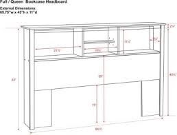 Headboard Woodworking Plans by Storage Headboard Plans 7074