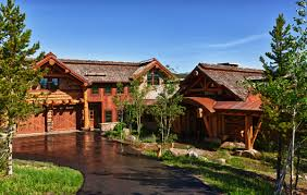 custom big sky log homes luxury cabins uber home decor u2022 11340
