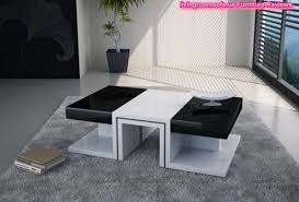 Black And White Coffee Table Black And White Shining Wood Coffee Table