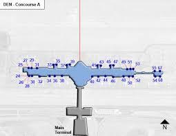 denver terminal b map denver airport map concourse b afputra com