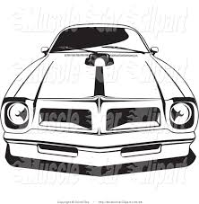 royalty free stock muscle car designs of auto coloring pages
