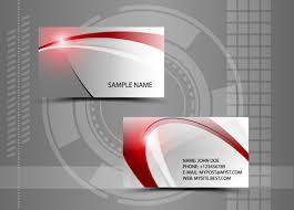 Abstract Business Cards Modern Style Abstract Business Cards Vector 06 Vector Card Free