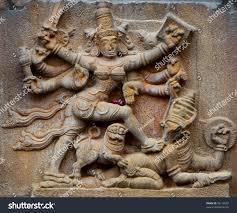 God Statue Hindu God Statue Tanjavur Tamil Nadu Stock Photo 76118839