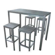 tables hautes cuisine table haute cuisine but inspirations et table haute jardin design