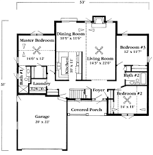 1500 sf house plans bungalow style house plan 3 beds 2 00 baths 1500 sq ft 528 4