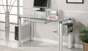 desk glass computer desk light hearted office table desk