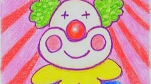 learn how to draw a cute clown danny and daddy youtube