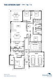 floor plan blueprint the byron bay floorplan blueprint homes