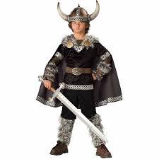 Super Deluxe Halloween Costumes Super Deluxe Viking Warrior Boys Costume Walmart