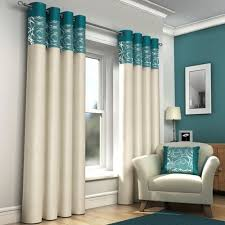 Short Drop Ready Made Curtains Turquoise Curtains Amazon Co Uk