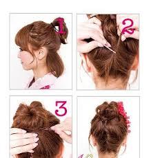 tutorial kepang rambut frozen tiwst bun fitrisuciwulansari blogspot com jpg