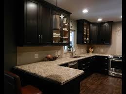 Espresso Cabinets Kitchen Espresso Kitchen Cabinets With Backsplash