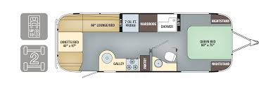 auto use floor plan floorplans flying cloud airstream