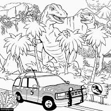 trex indominus rex coloring ecoloringpage