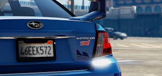 subaru tuner 2011 subaru impreza sti add on replace tuning gta5 mods com