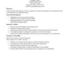 resume sle for college graduate with no work experience medical resume format stunning sle gallery simple