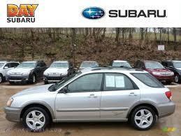subaru 2004 wagon 2004 subaru impreza outback sport wagon in platinum silver