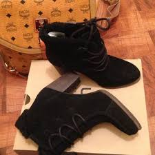 s ugg ankle boots with laces 53 ugg shoes ugg analise boots from donna s closet