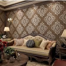 beibehang 3d deep embossed wallpaper wallpaper engraved european