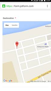 give me a map of my location geolocation inaccuracy when check in jotform