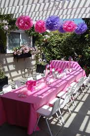 fancy nancy table 3 fluffy decorations city birthday