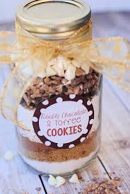 cookie mix in a jar gift idea