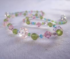 Children S Jewelry Kids Jewelry Green Turtle Necklace Czech Glass Yellow Seed