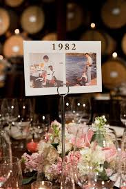 table numbers for wedding 16 table number ideas weddings illustrated