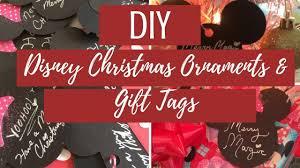 diy disney christmas ornaments u0026 gift tags featuring holly