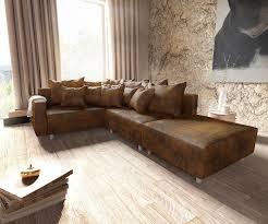 couch mit hocker ecksofa kombination