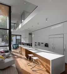 Architect Kitchen Design Minimalist Kitchen Oversized Kitchen Island At The Moore Park