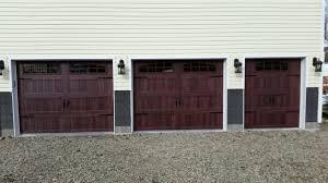 steel carriage garage doors 5916 c h i 2 9x7 1 6x7 long panel mahogany carriage house door