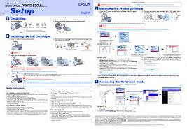 epson stylus photo 830u user manual