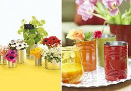 Flower Vase Painting Ideas 20 Tin Can Craft Ideas Flower Vases And Plant Pots