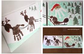 collaborative christmas handprint craft teach me mommy