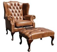 Chesterfield Wing Armchair Chesterfield Mallory High Back Wing Chair Uk Manufactured Old