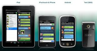 android ipod sms on ipod iphone and android by at t via textplus revoseek