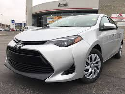 classic toyota new 2018 toyota corolla le standard package burlec am 4 door car
