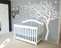 Best Wall Decals For Nursery Best Baby Wall Decals For Nursery Uk All White Tree Wall Decal