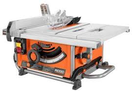Bosch Table Saw Review by Ridgid Compact Table Saw R45161 At Home Depot U2013 A Good Buy