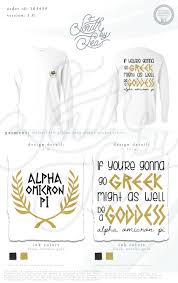 Go Design by Alpha Omicron Pi Aoii If You U0027re Gonna Go Greek Might As Well