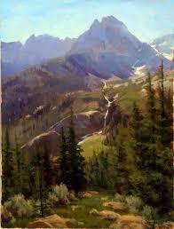 Mountain Landscape Paintings by 638 Best Art Mountain Landscapes Images On Pinterest Landscape