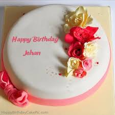 roses happy birthday cake for jehan
