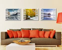 autumn river picture window wall art home decor gift ideas autumn river picture french window framed canvas print home decor wall art collection