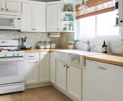 white kitchen cabinets with butcher block countertops how to install butcher block countertops