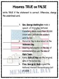 memorial day facts worksheets u0026 historical information for kids