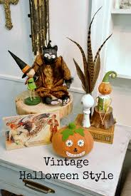 Vintage Halloween Decorations Vintage Halloween House Tour Hunt And Host