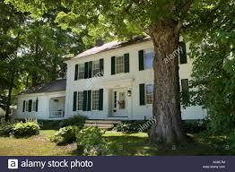 norman rockwell house arlington vermont bennington county stock